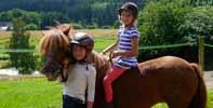 Urlaub auf dem Bauernhof | England | Kent | Sunninglye Farm-Pony verwöhnen