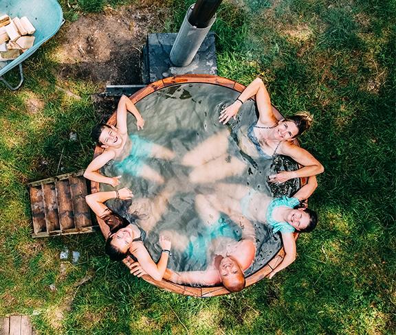 Landhoeve op de Veluwe-Hot Tub Mobile