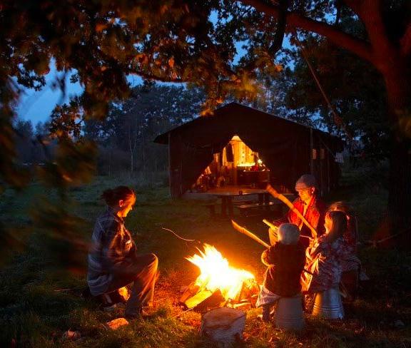 De Lange Weide-campfire cart